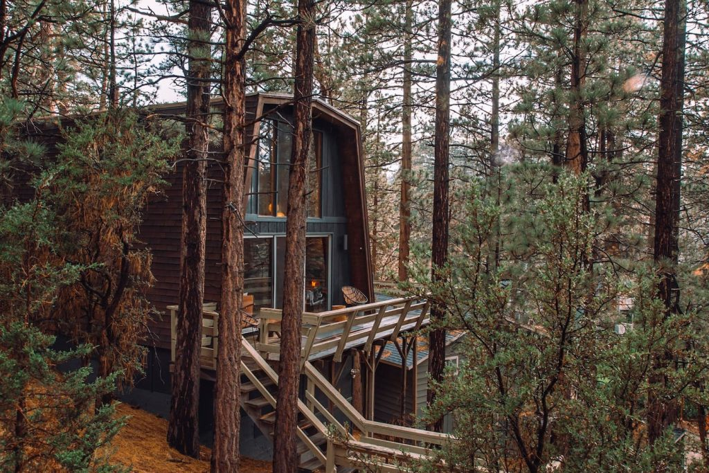 Big Bear Lake treehouse
